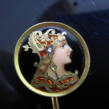 THE MOST BEAUTIFUL STICK PIN