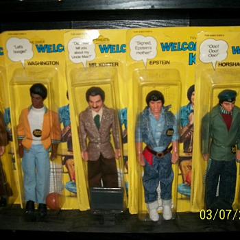 Welcome Back Kotter Action Figures - Toys
