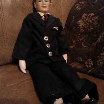 "18"" Male China Doll  - Dolls"