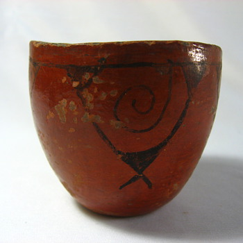 Old Bowl - Folk Art