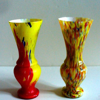NEW RUCKL PIECES - Art Glass