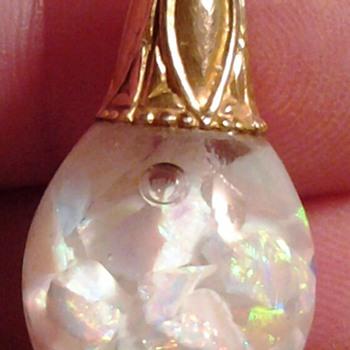 14k opal pendant - Fine Jewelry