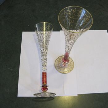 champagne flutes - Glassware
