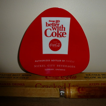 &quot;60&#039;s Coca-Cola tip tray, only in Canada you say! Pity! - Coca-Cola