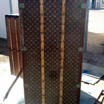 Restoring A Louis Vuitton Wardrobe Trunk - Furniture