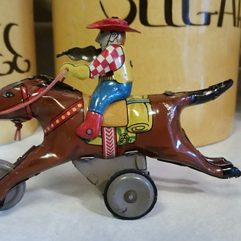 Sharing My Toys with Everyone on CW - Meet Giddy-Up