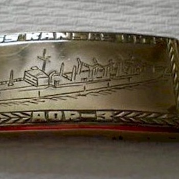 USS Kansas City Belt Buckle
