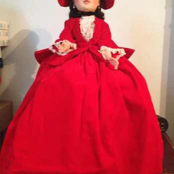 1962 Scarlet Portrait in Red Velvet - Dolls