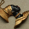 Vintage blackamoor pendant