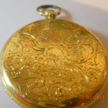 Old Gold Pocket Watch - Pocket Watches