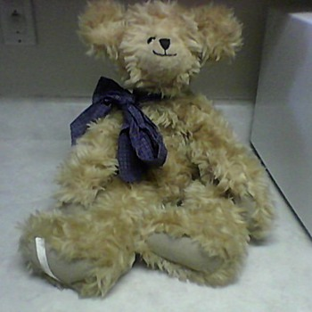 BUTTERSCOTCH  TEDDY BEAR