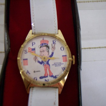 1971 Spiro Agnew Wristwatch - Wristwatches