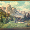 Original Mountain Landscape painting by Pauser
