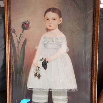 American vintage/antique frame