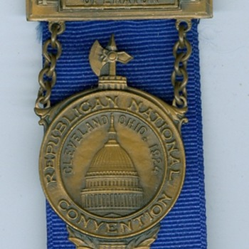 1912/1924 Republican National Convention Ribbons