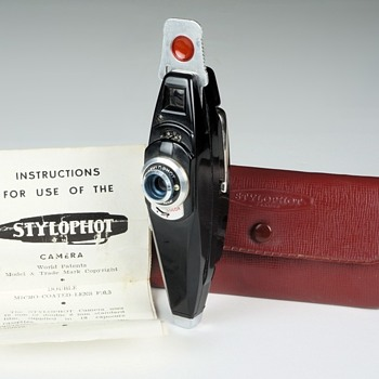 "Stylophot ""Pen"" Camera. 1955"