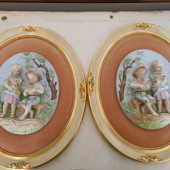 porcelain wall hanging