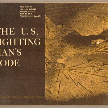 "1967 - ""The U.S. Fighting Man's Code"" - Booklet - Paper"