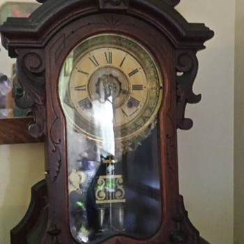Ansonia Monarch Victorian Mantle Clock