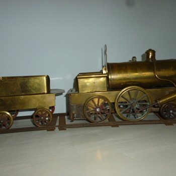 live steam train set .