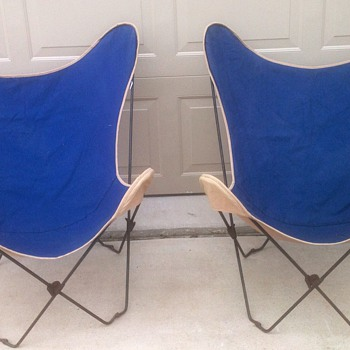 Butterfly Folding Chair - Mid Century Modern