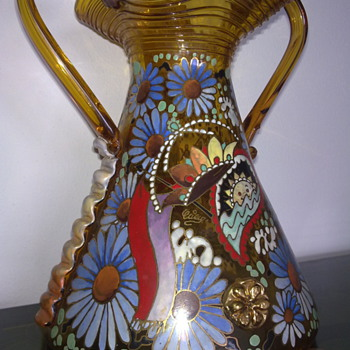 antique vase?? - Art Glass