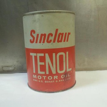 one quart sinclair can - Petroliana