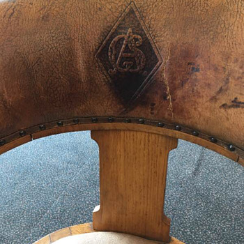 Trying to identify logo on back of chair - Furniture