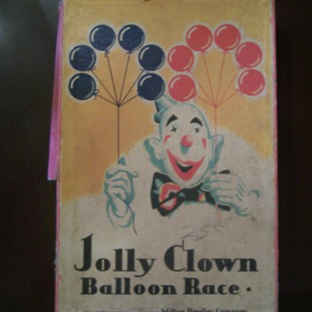 1932 Milton Bradley Game - Games