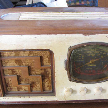 Tiffany Tone Radio (model# unknown) - Radios