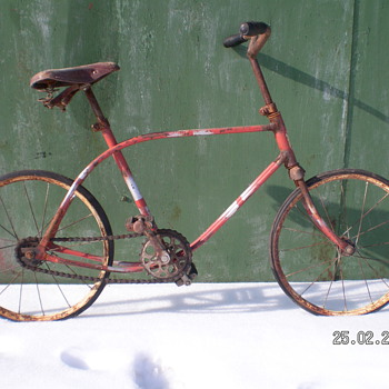 Antique 1956 Kids Bike  - Sporting Goods