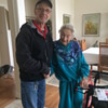 Kathleen Stothers 94 years-, happy ending for an Artwork, 11-12-2015