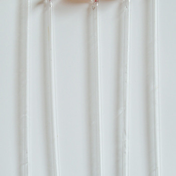 Glass straws with spoons - Glassware