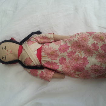 trying to identify my grandmothers doll - Dolls