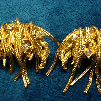 Clip On Earrings-DeNicola - Costume Jewelry