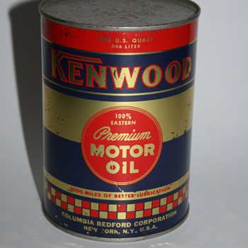 Kenwood oil can