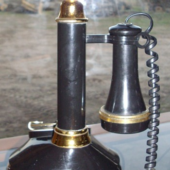 1973 Western Electric candle stick phone.  - Telephones