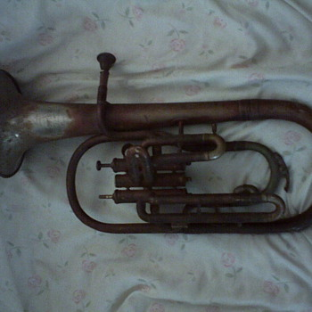 Boston Musical Manufy Co...Alto Horn circa 1895 - Music
