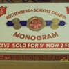 R&amp;S Monogram cigar box