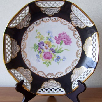 My Inherited Bavarian Collector Plate - Art Pottery