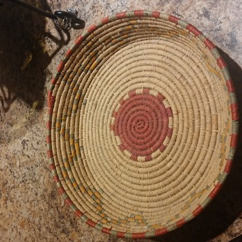 Native American or African Basket? - Sewing