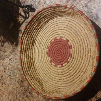Native American or African Basket?