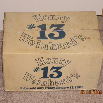 Henry Weinhards #13 - Bottles
