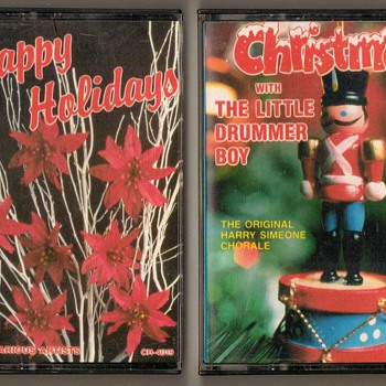 Christmas Music - Cassette Tapes