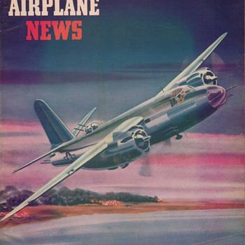 1944 - Model Airplane News magazine - November