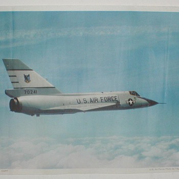 USAF &quot;F-106 Delta Dart&quot; - Posters and Prints