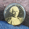 """We Mourn Our Loss"" 19th C. Pinback Button"
