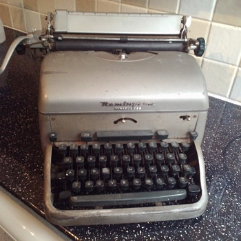 My big Noiseless typewriter