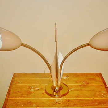 '60s Deco Table Lamp - Lamps