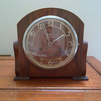 Old Clock made in England.